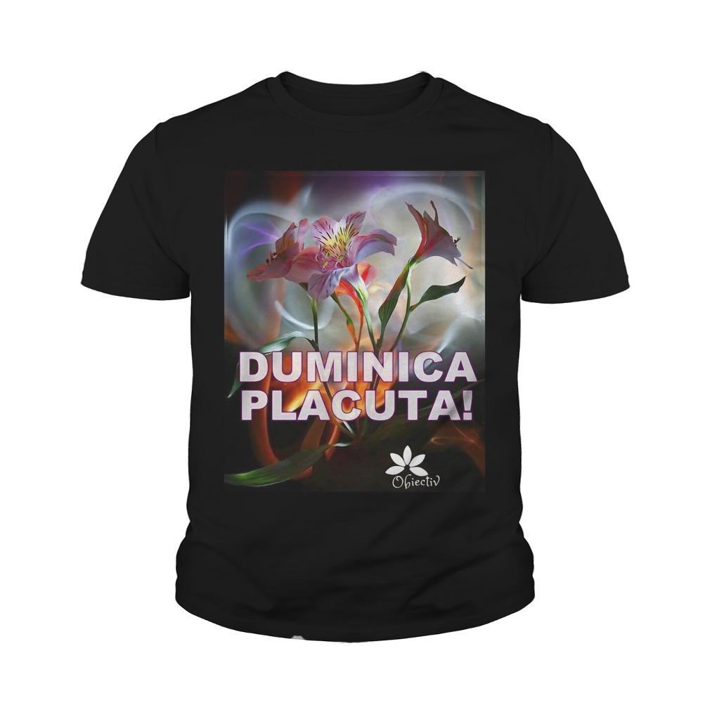 Duminica Placuta Obiectiv Youth Shirt