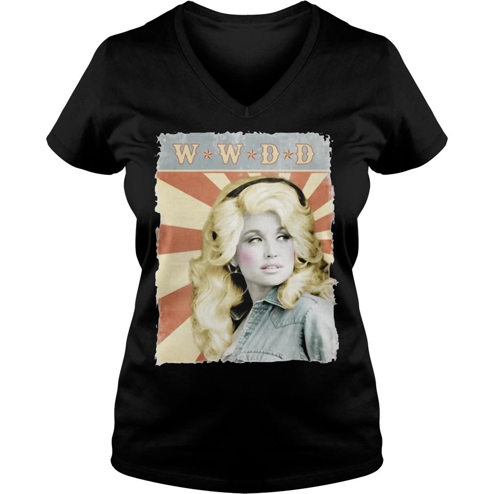 Kristin Chenoweth What Would Dolly Do Ladies v neck
