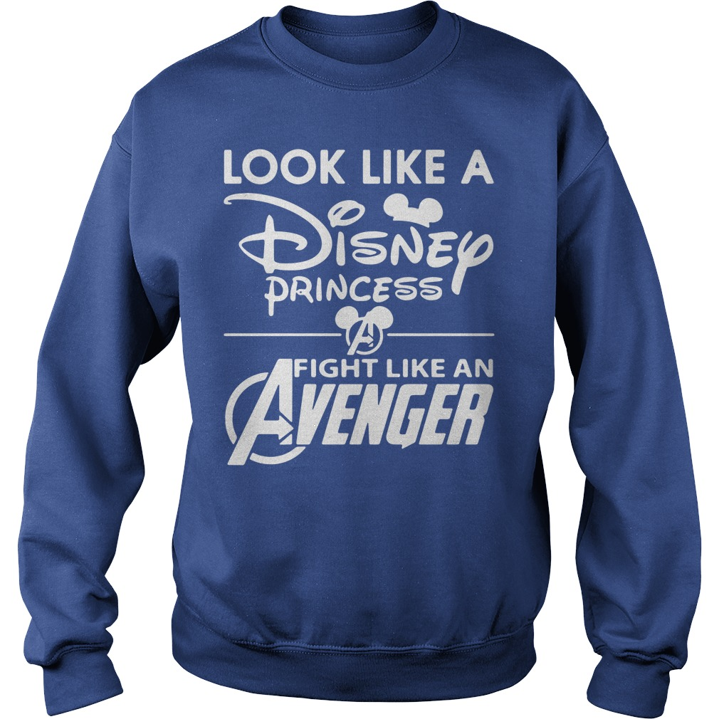 Look Like A Disney Princess Fight Like An Avenger Sweater