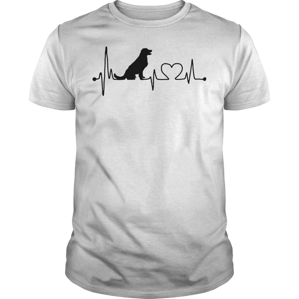 Official Dog Heartbeat Unisex Shirt