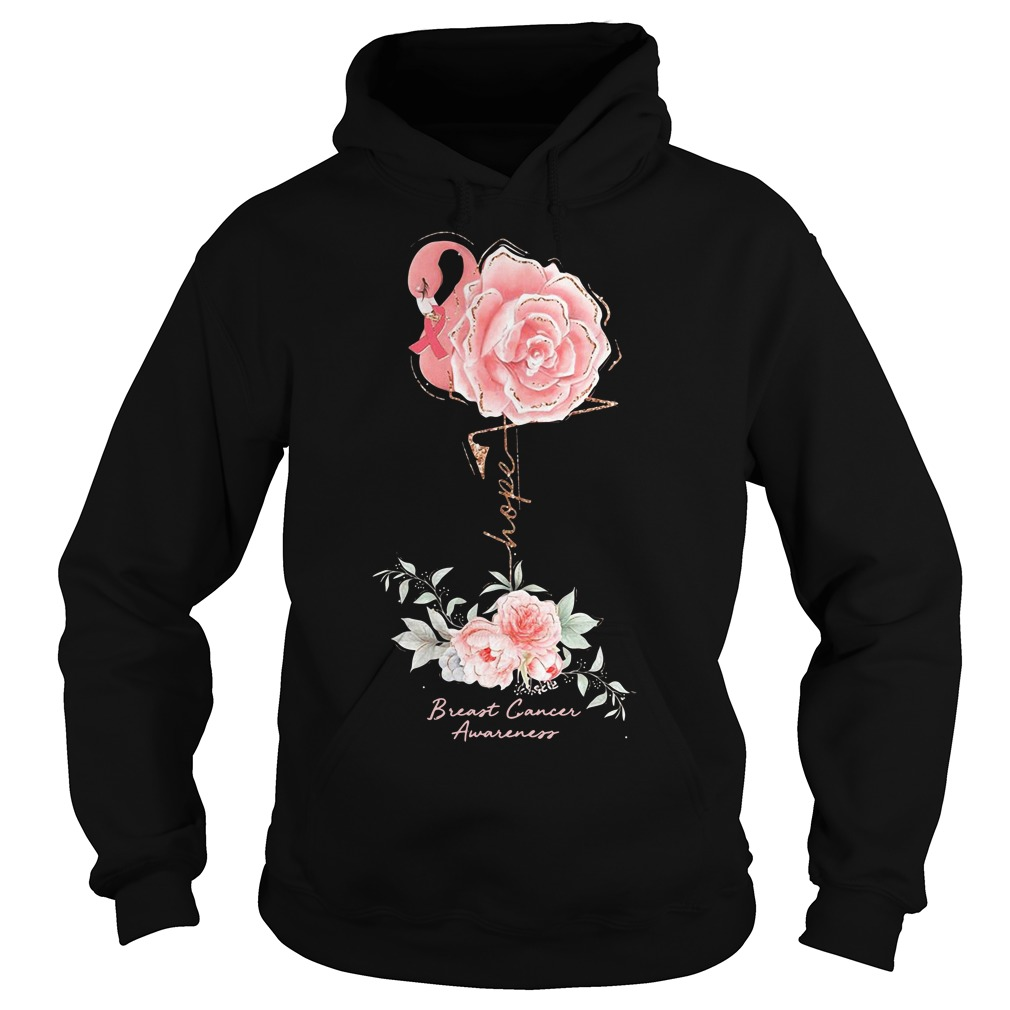 Rose Breast Cancer Awareness Hoodie