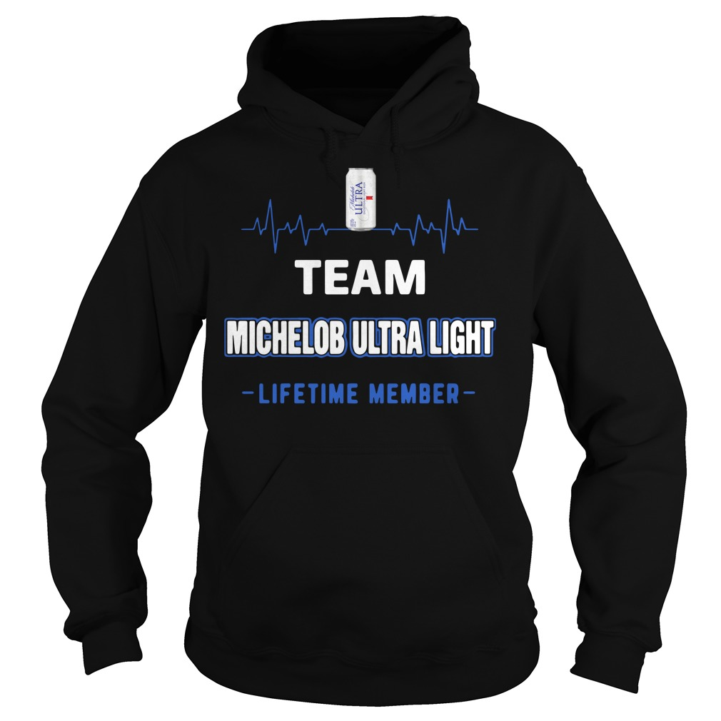 Team Michelob Ultra Light Lifetime Member Hoodie