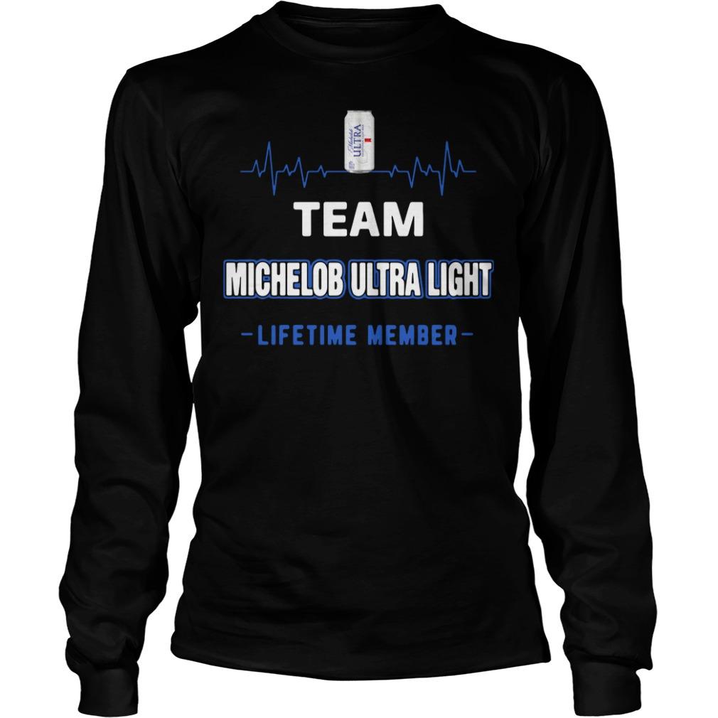 Team Michelob Ultra Light Lifetime Member Longsleeve Shirt