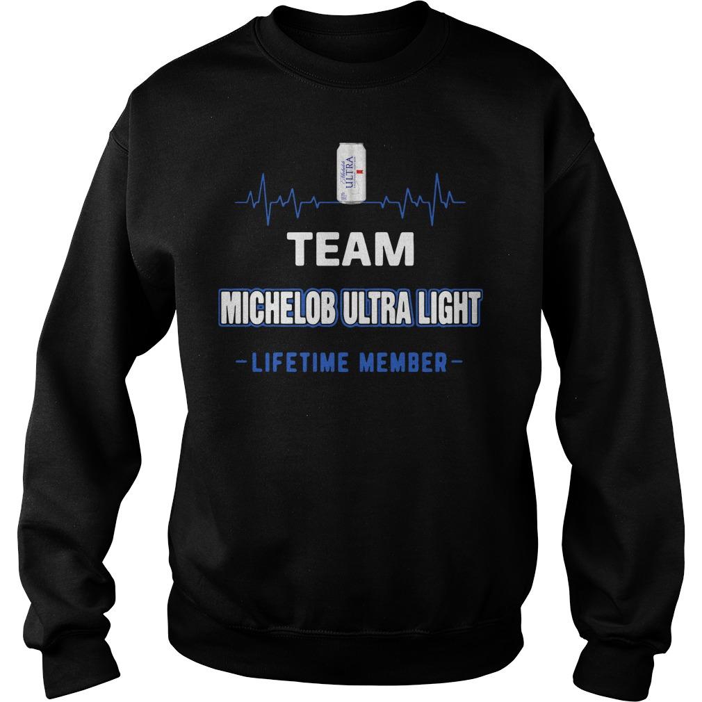 Team Michelob Ultra Light Lifetime Member Sweater
