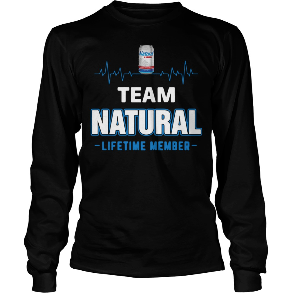 Team Natural lifetime member Longsleeve Shirt