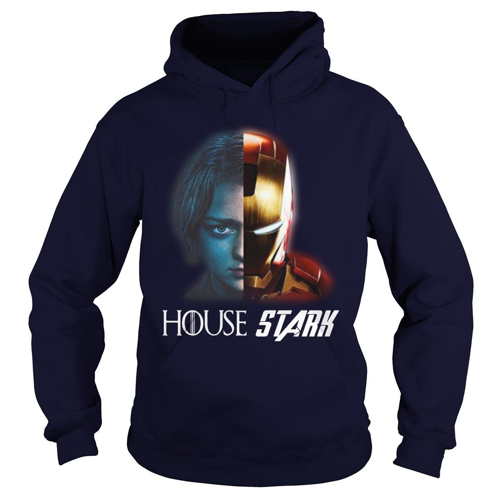 Arya And Iron Man House Stark Hoodie